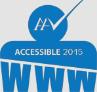 Accessible logo